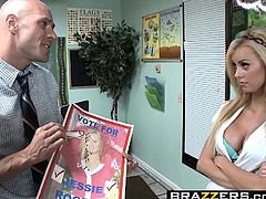 Brazzers - Big Tits at School - Jessie Rogers