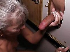 Milf Visits Glory Hole for the First Time
