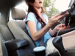 Women are masturbating while driving - More On HDMilfCam.com