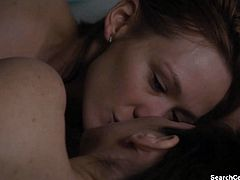 Hot Celebs in Lesbian Sex from The Girlfriend Experience