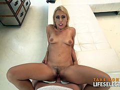 Nikky Thorne really enjoys every second spent with a huge dick in her mouth. She loves to ride, suck and fuck. You don't want to miss this video…ENJOY!!!
