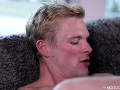 A lazy afternoon on the couch? Not when it's Ty and Dominic, it's not! These buddies do not suffer from boredom very long. They just get down to licking, sucking, and fucking each other. No better way to spend the day than by having sex, right?