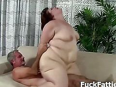 Fat Chick Gets Pounded With A Big Hard Cock