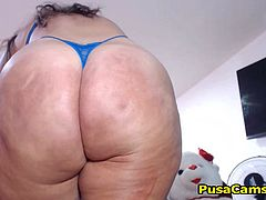 She got even bigger ass. You wont believe how thous butt cocks are slapping each other when she moves her hips, she is beautiful and sexy ghetto girl with big tits and oh my fucking god what she can do with that dildo in front of her cam, I wont tell you and video will not explain go and watch her live!