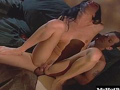 This scene only stands to highlight why that is ever so true. Check it out as Taylor has her pussy licked and fingered. She then deepthroats cock, lubes it up in her twat and bends over to have every inch of hard dick worked into her tight asshole.
