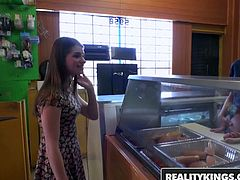 RealityKings   Money Talks   Adrian Maya Alice March Brad Sterling Raven   Hot Dog Stand