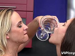 I love Vinna crazily and try to show her this in every possible way. I like to lick her tasty pussy, but what I like most of all, is to get a jet of warm piss right in my mouth, as reward for my sensual oral pleasures... Join!