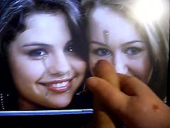 Miley Cyrus and Selena Gomez getting anaother Load