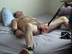 Cock Torture with Clothespins and Whips