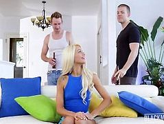 Elsa Jean - Blackmailed - Blackmailed Teen Cheats In BFs Face