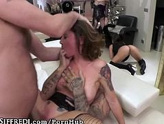 Italian Real Estate Agent gets Hard Double Anal Drilling- Sì Sì