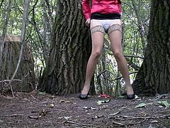 Hidden Cam In Forest Girl Pee Part 4