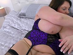 If you ever see Carol Brown, you will not forget her. This really luxurious woman has an appetizing curvy figure, an incredibly wet pussy and a pair of unbelievably huge tits. What other proof do you need to join her?