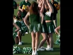 Cheerleader Flashing  Naked Ass in Public ( Moment Repeat )