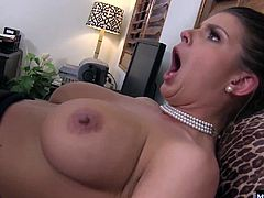She was still surprised to uncover such an extensive penis in between Charles legs. Their love cant be denied even though hes married to another woman, so he strips down with her and eats that pussy out before and after fucking her with his long shaved white cock.