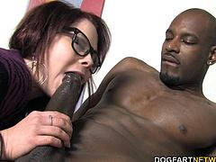 Misti, not one to share with other black cock sluts, decides to use Flash as her fuck toy even if that means risking her job.