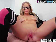 Staci Carr - Sexy Blonde GF Fucks her Man - I Know That Girl