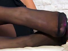 Pantyhose feet only