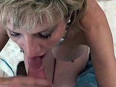 Unfaithful british mature lady sonia presents her big boobie