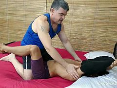 Asian gay porn scenes and hes a pure bottom. Rave came to visit and so I invited him to have a go with me. Rave loves his feet worshiped, and I was happy to suck his toes and give full service to his Asian boy feet. Then he rewarded me with some footjob action and by this time I was ready to bareback fuck this cutie.