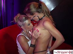 The StripperExperience - Nicole Aniston & Puma Swede lesbian