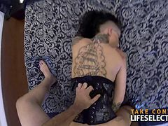 She is wild, reckless and passionate,,, she is a natural born rebel and a self-made bitch in the best possible meaning of the word. She is Christy Mack and she visits your home (both in fantasy and reality) to give your cock the attention only she can give. If you like them crazy, if you love them hot, then Christy is the girl for you. Don't take our word for it, try her yourself.