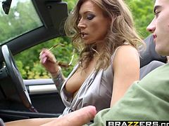 Brazzers - Milfs Like it Big - Hitching For A scene starring