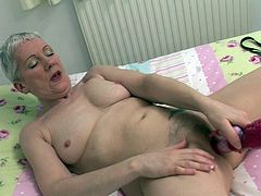 Hot British housewife masturbating
