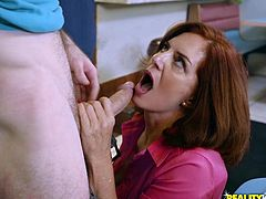 Hunting down horny amateur moms is my specialty! Every MILF is a sex starved goddess who isn't getting the attention she deserves. Check out Andy James, I fucked her right at the cafe! Relax and have fun!