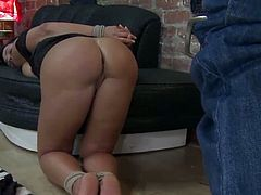 Lisa Ann tied up and fucked