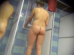 Hidden Cam Shower Room 06