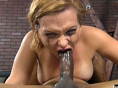 She doesnt consider it cheating if its just her head that gets pounded by dick as a buddy holds open her face to ensure the deepest penetration possible for his friend, and shes smiling like a joker by the time hes done with her, because her makeup is not waterproof, and all that pounding of her head as made her eyes water