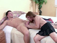 German Young Stud Seduces His Grandma