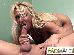 Sex addict MILF Holly Halston needs cock so bad she goes all crazy for that dick
