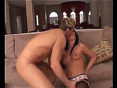 A coarse fuck with the excited melissa lauren