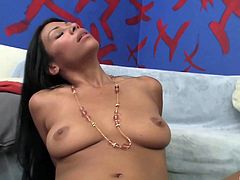 Awesome Cassandra Cruz rides a big dick like her life depends on it