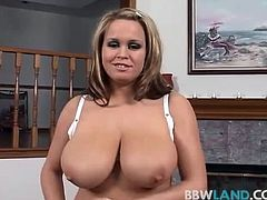 Big Tit Brandy Talore Sucks Cock POV