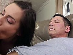 Step-Uncle Seduced By Dirty Niece For Forbidden Taboo Sex