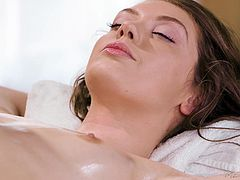 Skinny chick Elena Koshka gets her cunt drilled with a fat pecker