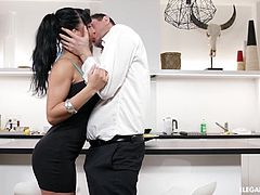 Valentina Ricci's insatiable lust for big cocks in her holes