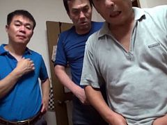 Gang Bang A Japanese Housewife In Her Home