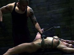 Extreme small and huge latex male slave Engine issues out