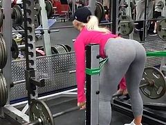 Bodybuilder ass