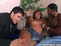 Hot moments with libidinous Brian Pumper and Jasmine Byrne