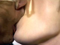 Japanese Kiss - Tongue Kiss Audition for JAV Casting