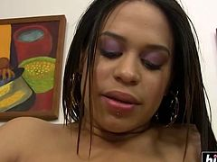 Chyanne Jacobs loves a big black cock