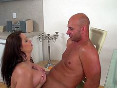 chubby big natural monster boob babe sirale alena enjoys a wild big cock tit fuck