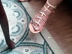 Ebony Candid Feet! Must See!