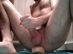John Holmes dildo balls deep in my ass