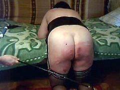Plump wife punished